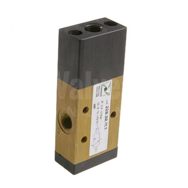 Series 228 Mechanical Pneumatic Valve 3/2 & 5/2 - 1/8