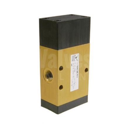 Series 224 Mechanical Pneumatic Valve 3/2 & 5/2 - 1/4""