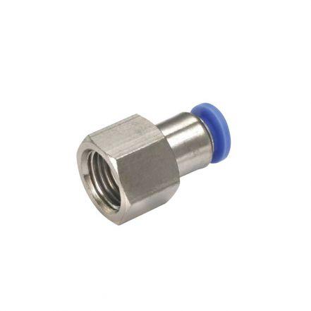 Polymer Female Parallel Thread Straight Adaptor Fitting