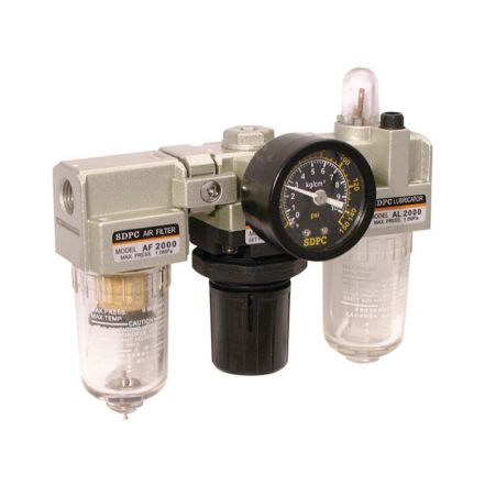 Pneumatic Filter, Regulator, Lubricator Set