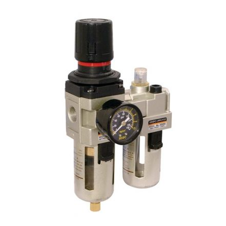 Pneumatic Piggyback Integrated Filter, Regulator, Lubricator