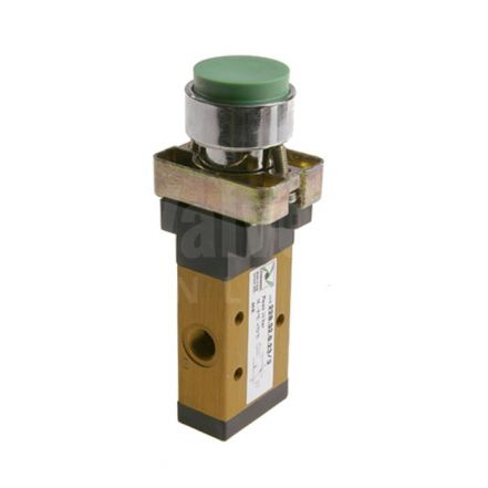 Series 228 Raised Push Button Ø22 Pneumatic Valve 3/2 & 5/2 - 1/8""