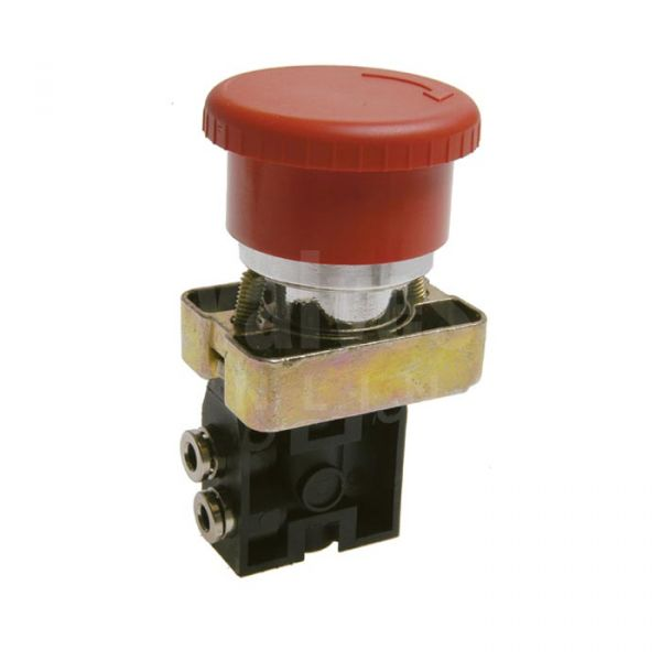 Series 104 Pneumatic Palm Push Button 3/2 & 5/2 - 4mm