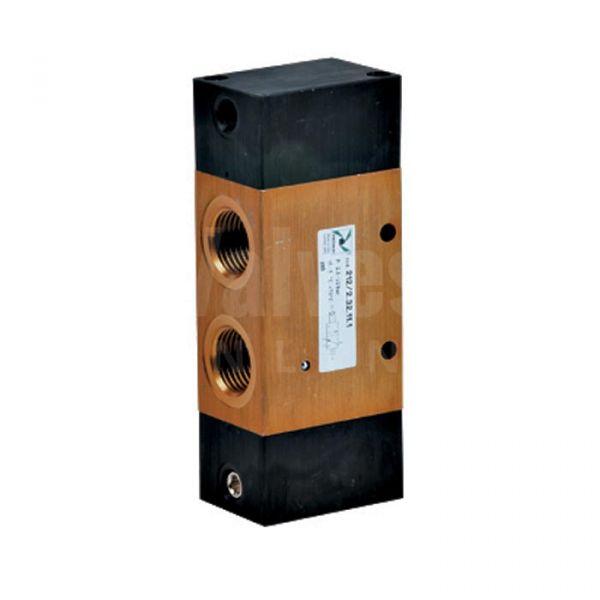 Series 212 Mechanical Pneumatic Valve 3/2 & 5/2 - 1/2