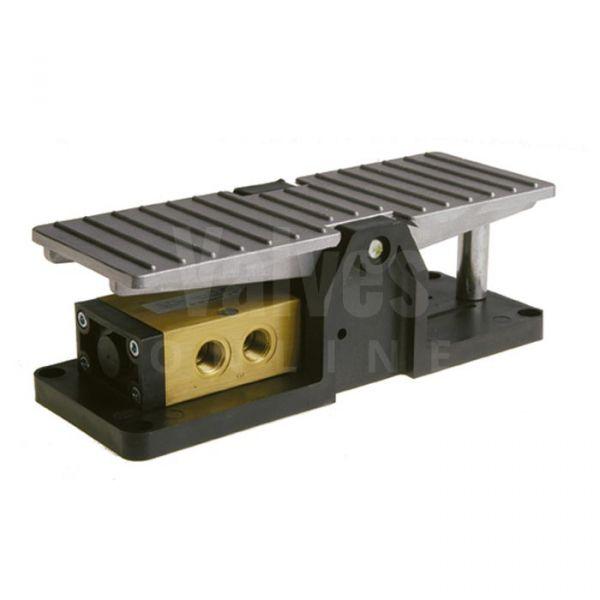 Series 224 Pedal Pneumatic Valve 3/2 - 1/4