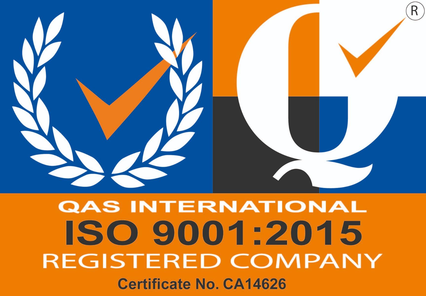 Valves Online ISO 9001 2015